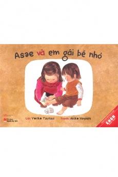 Asae và em gái bé nhỏ