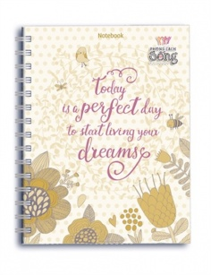 Notebook - Phong cách sống: Today is perfetct day to start living your dreams