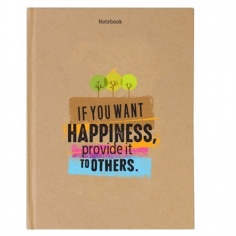 Notebook - Phong cách sống : If you want happiness, provide it to others