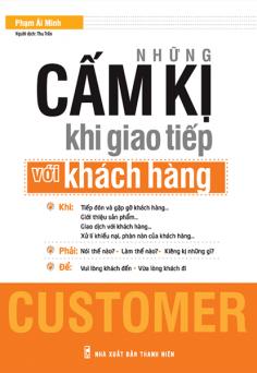 Những cấm kị khi giao tiếp với khách hàng