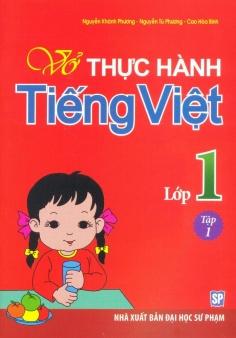 Vở thực hành Tiếng Việt lớp 1 - Tập 1