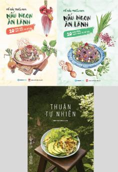 Combo bộ 3 sách dạy nấu ăn