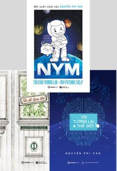 Combo: NYM - Tôi của tương lai (Bản thường) + Tôi đi tìm tôi + Tôi, tương lai và thế giới