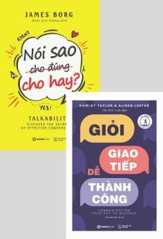 Combo: Nói sao cho đúng cho hay + Giỏi giao tiếp - Dễ thành công (tái bản 2019)