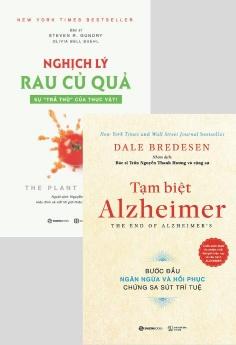 Combo: Tạm biệt Alzheimer + Nghịch lý rau củ quả: Sự