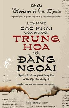 Luận về các phái của người Trung Hoa và Đàng ngoài