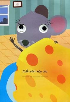 Tô mầu decan - Chuột con tìm nhà