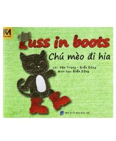 Chú mèo Đi Hia - Puss in Boots (Song ngữ Việt - Anh)