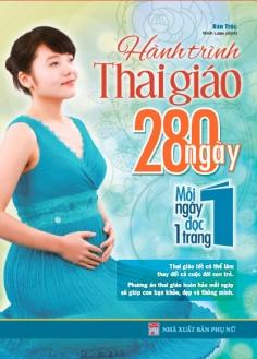 Hành trình thai giáo - 280 ngày, mỗi ngày đọc 1 trang