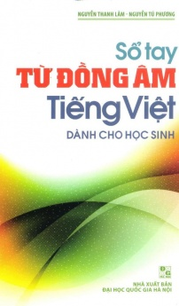 Sổ tay từ đồng âm tiếng Việt (Dành cho học sinh)