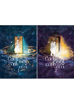 Combo Cách Một Cánh Cửa tập 1+2 phiên bản đặc biệt tặng postcard có chữ kí tác giả