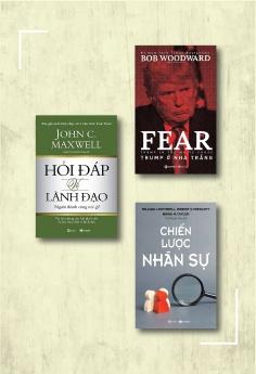 Combo Hỏi đáp về lãnh đạo - Người thành công nói gì + Trump ở nhà Trắng + Chiến lược nhân sự