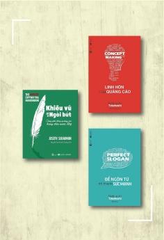 Combo Linh hồn của quảng cáo (Tái bản) + Để ngôn từ trở thành sức mạnh (Tái bản) + Khiêu vũ với ngòi bút