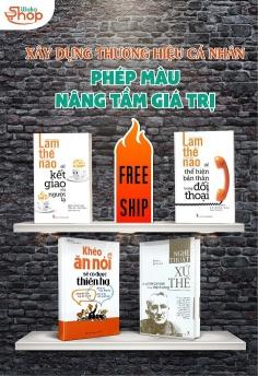 Bộ sách Xây dựng thương hiệu cá nhân - phép màu nâng tầm giá trị - Miễn phí giao hàng!