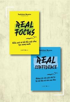 Combo Real Confidence - Kiểm soát và bắt đầu cuộc sống bạn mong muốn + Real Confidence - Không còn cảm giác nhỏ bé và bắt đầu trở nên can đảm