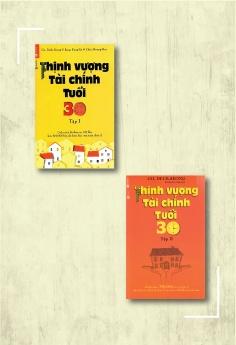 Combo Thịnh vượng tài chính tuổi 30 - Tập 1 (Tái bản) + Thịnh vượng tài chính tuổi 30 - Tập 2 (Tái bản)