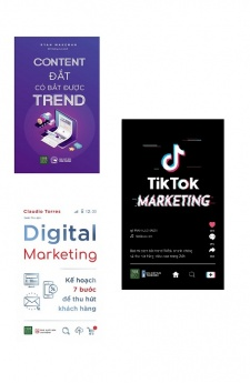 Dành riêng cho Marketer: Content đắt có bắt được trend + Digital Marketing + Tiktok Marketing