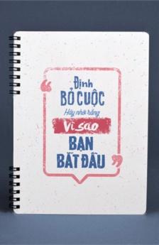 Notebook - Định bỏ cuộc hãy nhớ rằng vì sao bạn bắt đầu