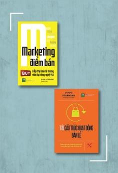 Bộ sách Bán lẻ và cách thức truyền thông trong thời 4.0: Marketing điểm bán + Tái cấu trúc hoạt động bán lẻ