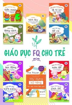 Bộ sách Giáo dục trí tuệ tài chính cho trẻ - bộ 10 cuốn song ngữ