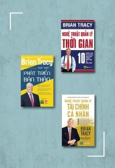 Bộ sách Brian Tracy - Nghệ thuật quản lý bản thân: Nghệ thuật quản lý thời gian + Nghệ thuật phát triển bản thân + Nghệ thuật quản lý tài chính cá nhân