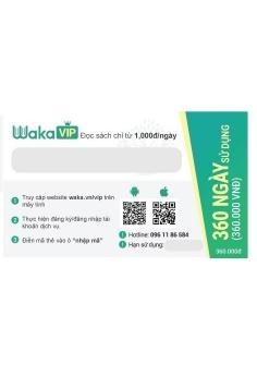 Thẻ đọc sách Waka 1 năm