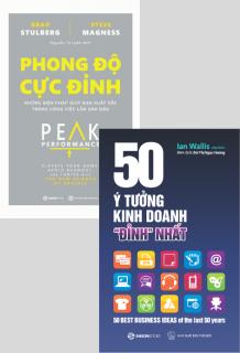 Combo: Phong độ cực đỉnh - 50 ý tưởng kinh doanh đỉnh nhất