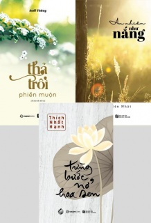Combo: Từng bước nở hoa sen + Thả trôi phiền muộn (Tái bản 2019) + An nhiên như nắng