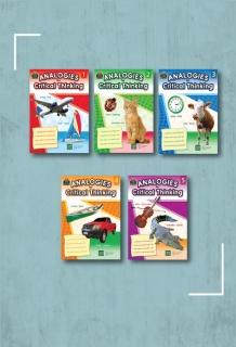 Trọn bộ Rèn luyện Tư duy Phân tích cho trẻ 5 tập