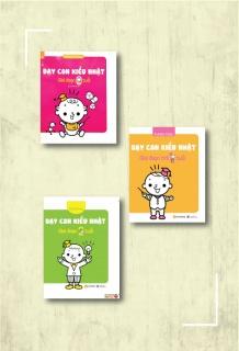 Combo sách Dạy con kiểu Nhật - Giai đoạn 0 - 2 tuổi (Bộ 3 cuốn)