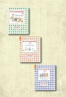 Combo Trẻ em trong gia đình (Quyển 1+2+3)