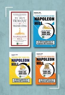 Trọn Bộ Napoelon Hill - Nghĩ giàu - Làm giàu: 5 nền tảng cho thành công + Nguyên tắc vàng của Napoleon + 17 nguyên tắc nghĩ giàu làm giàu + Tư duy tích cực để thành công