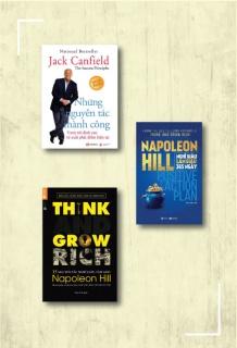 Combo Think and grow rich - 13 nguyên tắc nghĩ giàu, làm giàu (Tái bản) + Nghĩ giàu làm giàu 365 ngày + Những nguyên tắc thành công (Tái Bản)