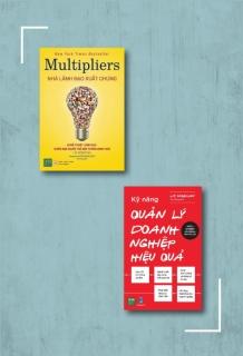 Bộ sách: Kỹ năng quản lý doanh nghiệp hiệu quả + Nhà lãnh đạo xuất chúng