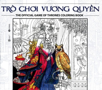Tro choi vuong quyen (Game of Thrones) (Sach to mau)